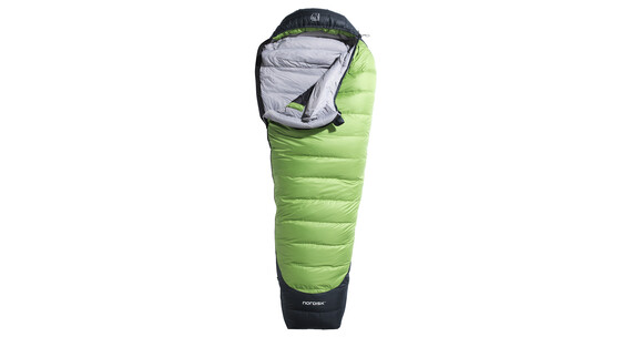 Nordisk Celsius mummy slaapzak -10°, l size groen/zwart